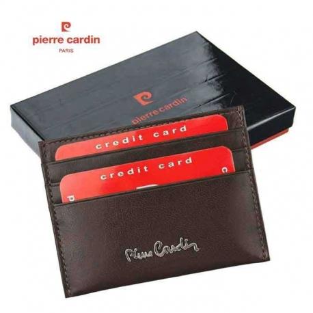 Vyriškas odinis kortelių dėklas PIERRE CARDIN-475