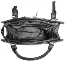 Lietuviška Rankinė juoda su pilku 1633